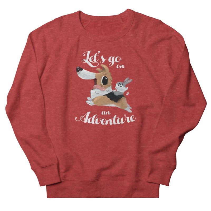 Let's Go on an Adventure! Men's Sweatshirt by aaronrandy's Artist Shop