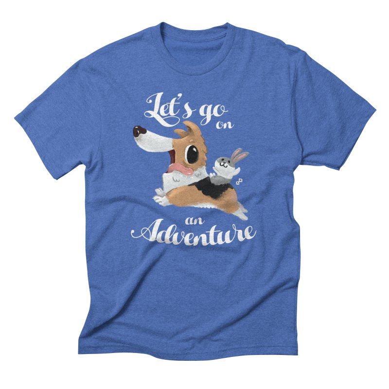 Let's Go on an Adventure! Men's Triblend T-shirt by aaronrandy's Artist Shop