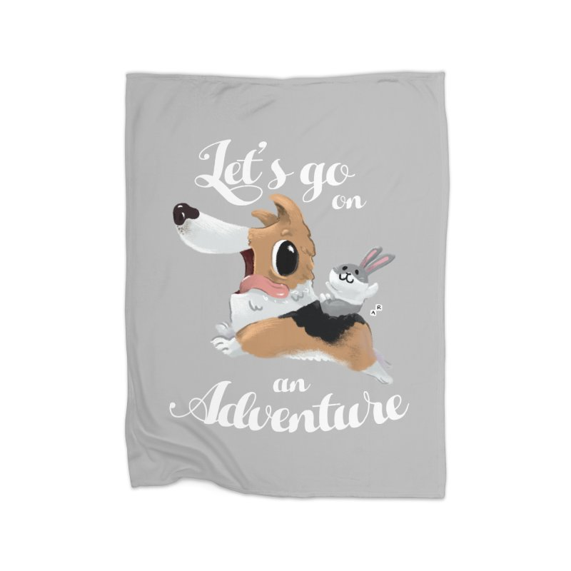 Let's Go on an Adventure! Home Blanket by aaronrandy's Artist Shop