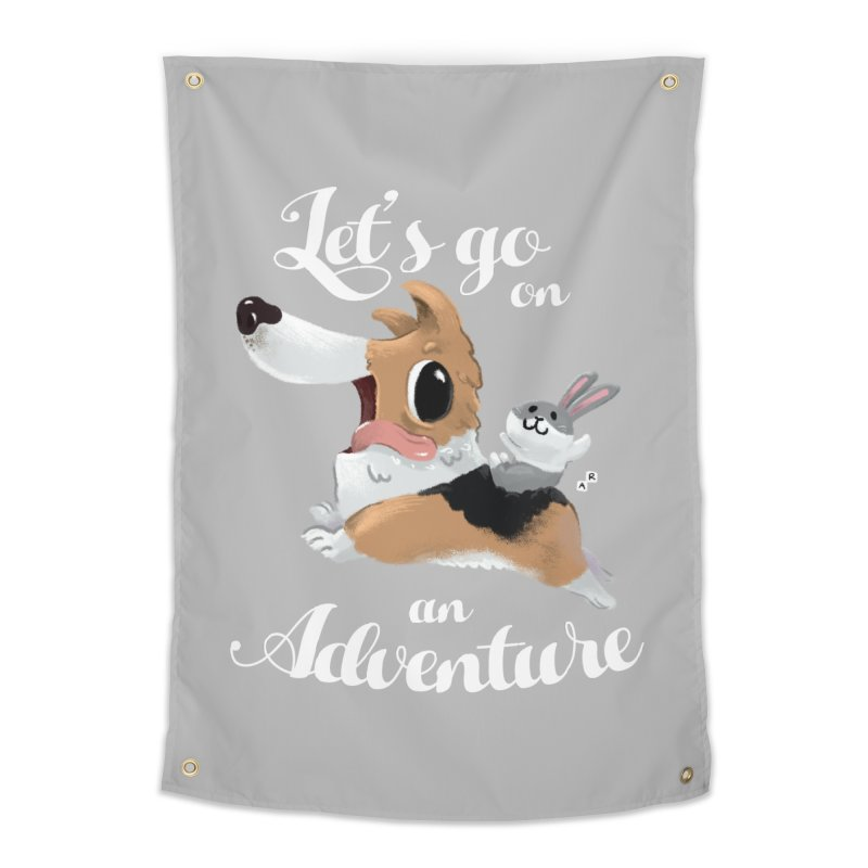 Let's Go on an Adventure! Home Tapestry by aaronrandy's Artist Shop