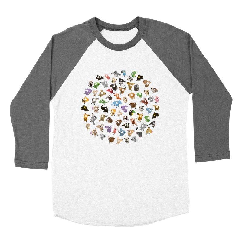 Awkward Meeting Men's Baseball Triblend T-Shirt by aaronrandy's Artist Shop