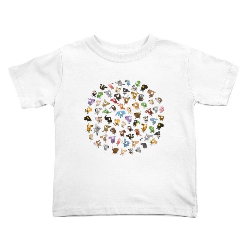 Awkward Meeting Kids Toddler T-Shirt by aaronrandy's Artist Shop