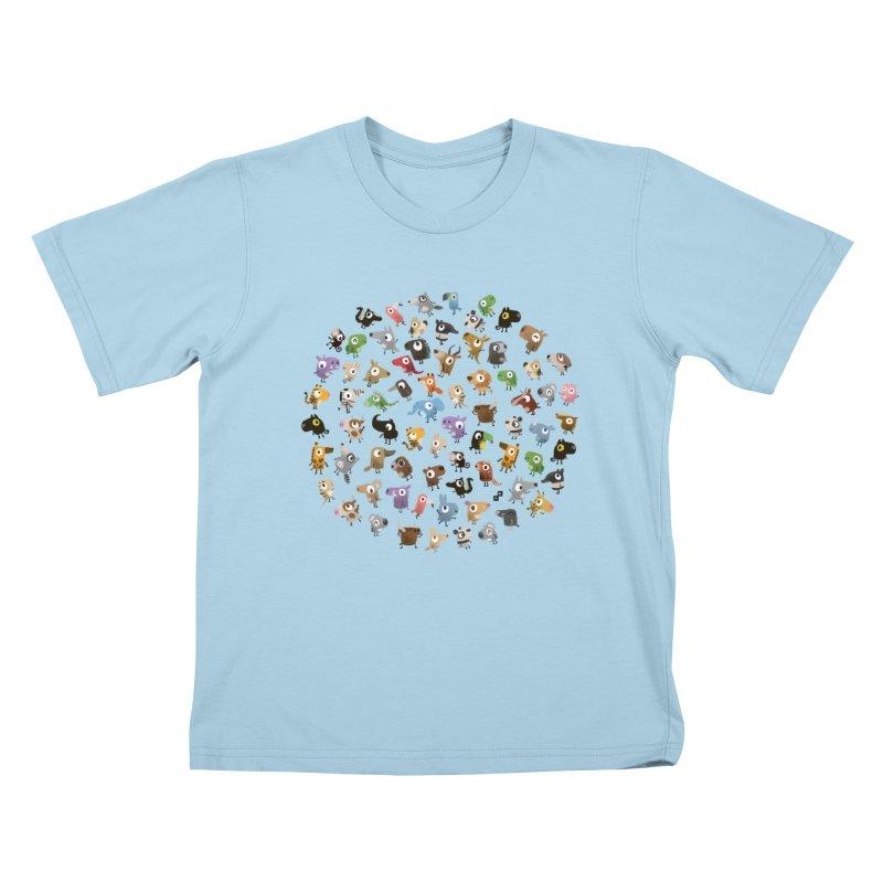 Awkward Meeting Kids T-shirt by aaronrandy's Artist Shop