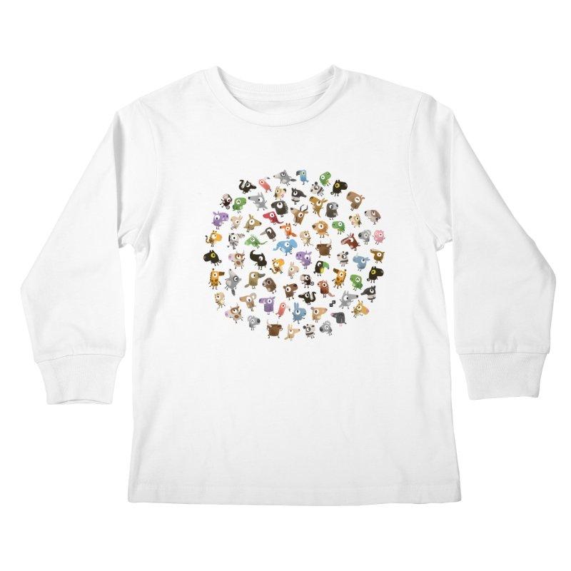 Awkward Meeting Kids Longsleeve T-Shirt by aaronrandy's Artist Shop