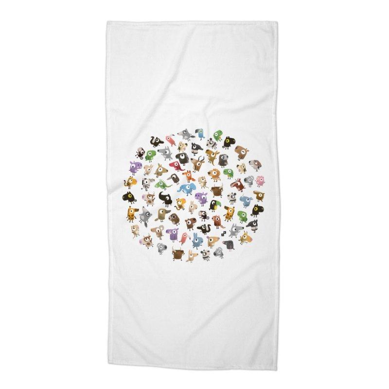 Awkward Meeting Accessories Beach Towel by aaronrandy's Artist Shop
