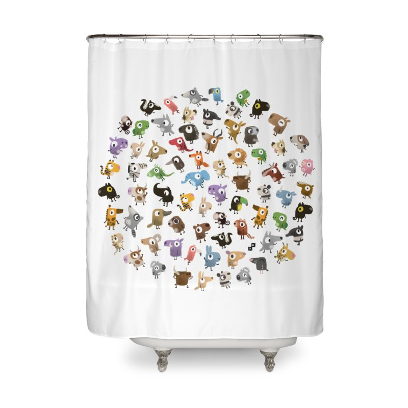 Awkward Meeting Home Shower Curtain by aaronrandy's Artist Shop
