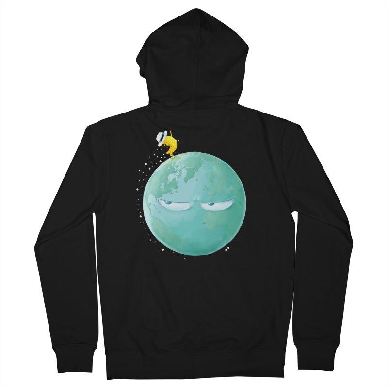 Moonwalk Men's Zip-Up Hoody by aaronrandy's Artist Shop