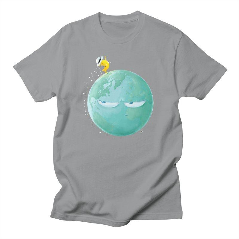 Moonwalk Men's T-shirt by aaronrandy's Artist Shop