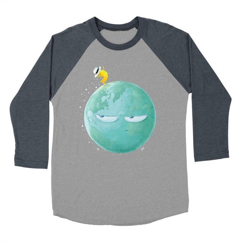 Moonwalk Men's Baseball Triblend T-Shirt by aaronrandy's Artist Shop