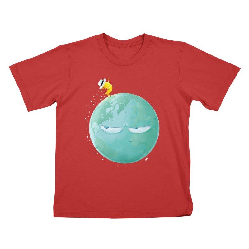 Moonwalk Kids T-shirt by aaronrandy's Artist Shop