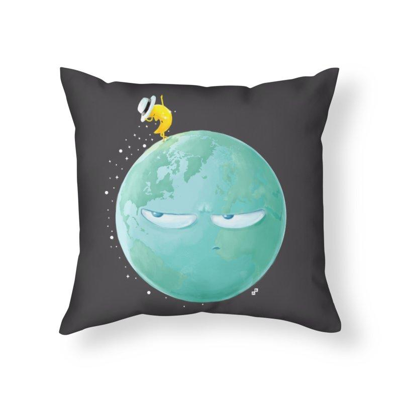 Moonwalk Home Throw Pillow by aaronrandy's Artist Shop