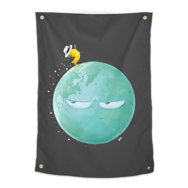 Moonwalk Home Tapestry by aaronrandy's Artist Shop