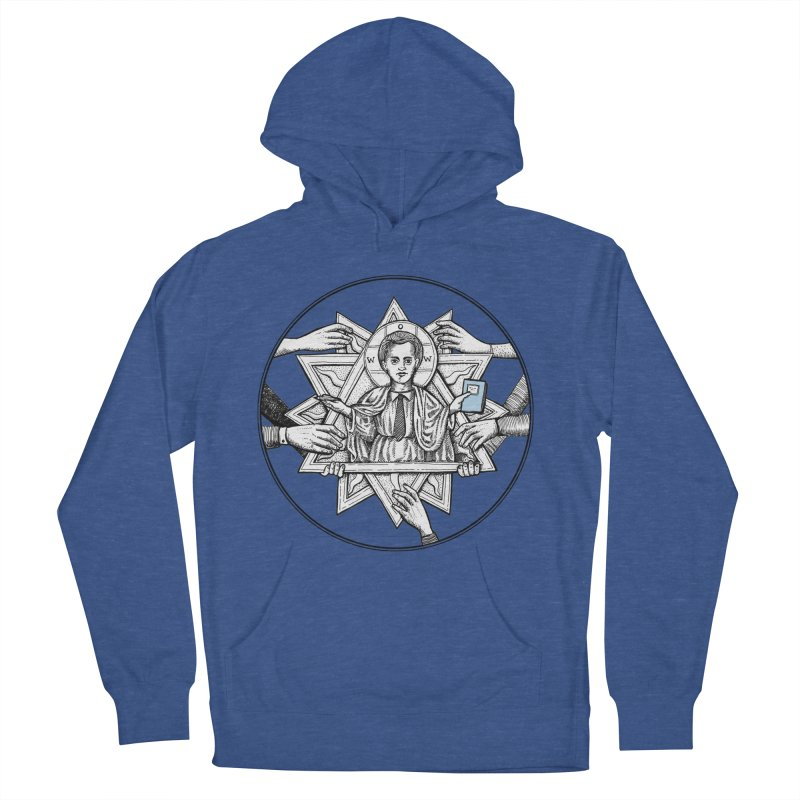 Bless & Grace Nerd Men's Pullover Hoody by abbey's Artist Shop