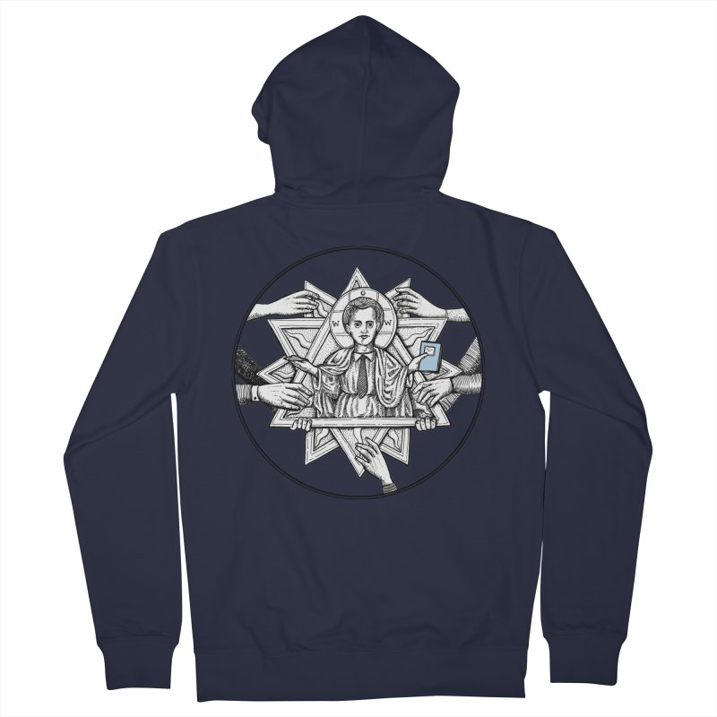Bless & Grace Nerd Women's Zip-Up Hoody by abbey's Artist Shop