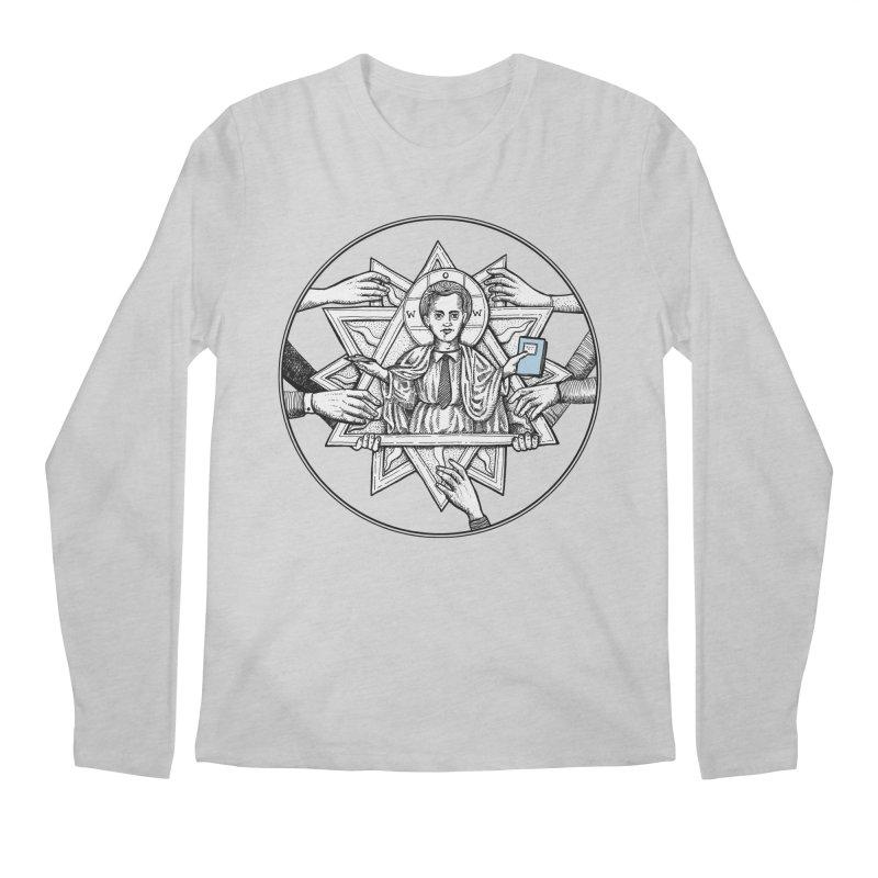 Bless & Grace Nerd Men's Longsleeve T-Shirt by abbey's Artist Shop