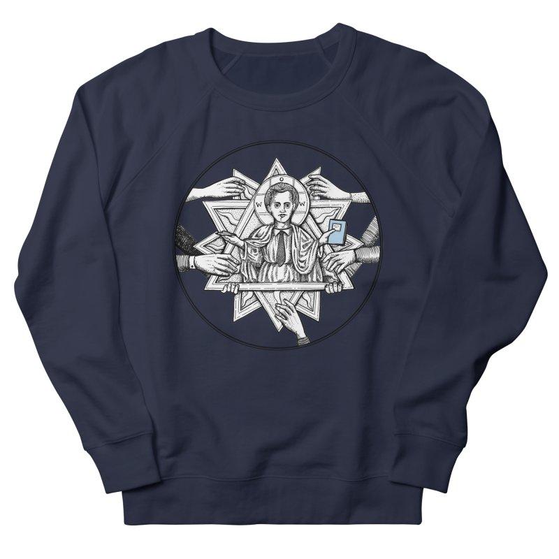 Bless & Grace Nerd Men's Sweatshirt by abbey's Artist Shop