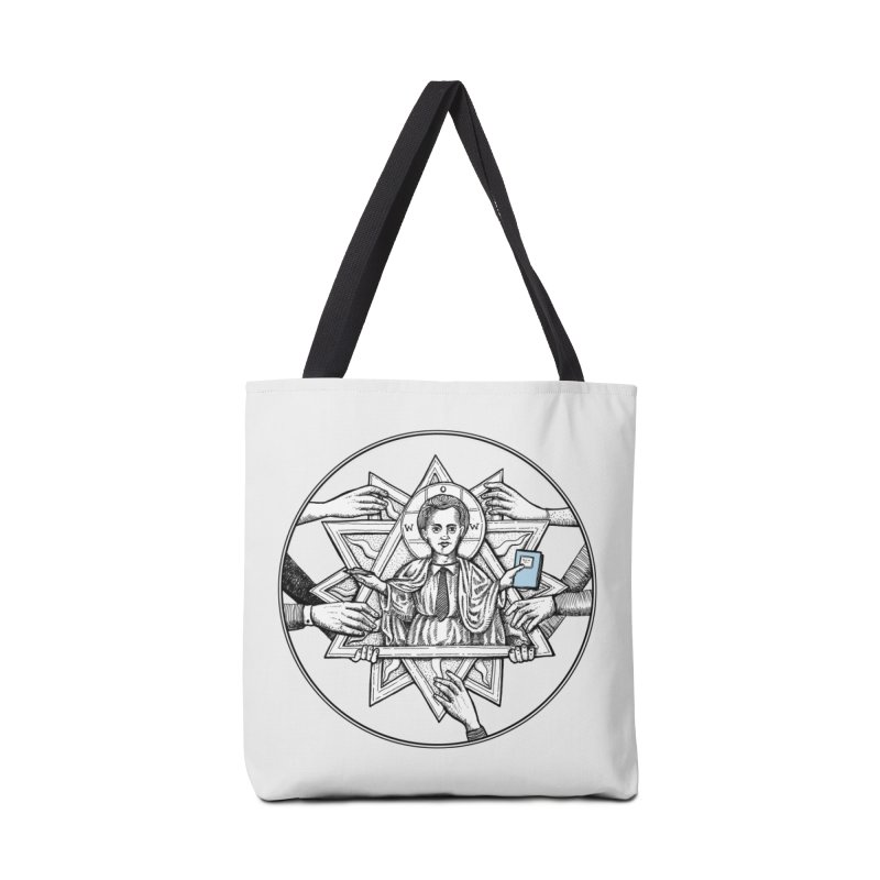 Bless & Grace Nerd Accessories Bag by abbey's Artist Shop