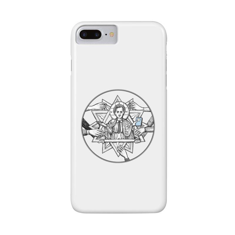 Bless & Grace Nerd Accessories Phone Case by abbey's Artist Shop