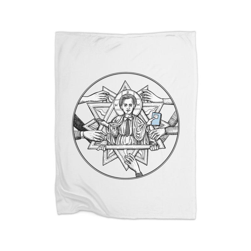Bless & Grace Nerd Home Blanket by abbey's Artist Shop