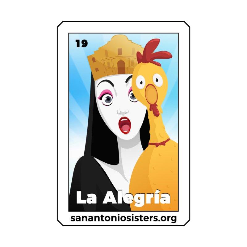 "2019 - ""La Alegría"" by abbeyofthealamo's Artist Shop"
