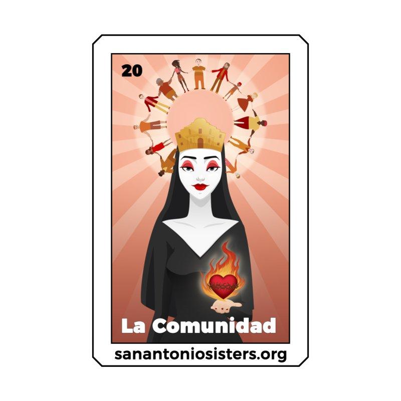 "2020 - ""La Comunidad"" by abbeyofthealamo's Artist Shop"