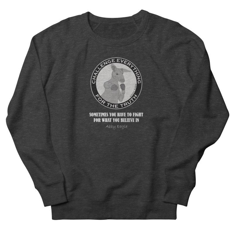 Kangaroo t-shirt B&W Women's Sweatshirt by Abby Eagle