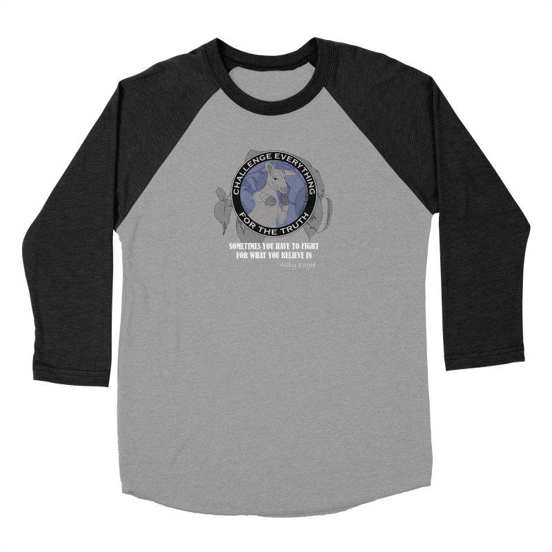 Kangaroo t-shirt - blue Men's Longsleeve T-Shirt by Abby Eagle