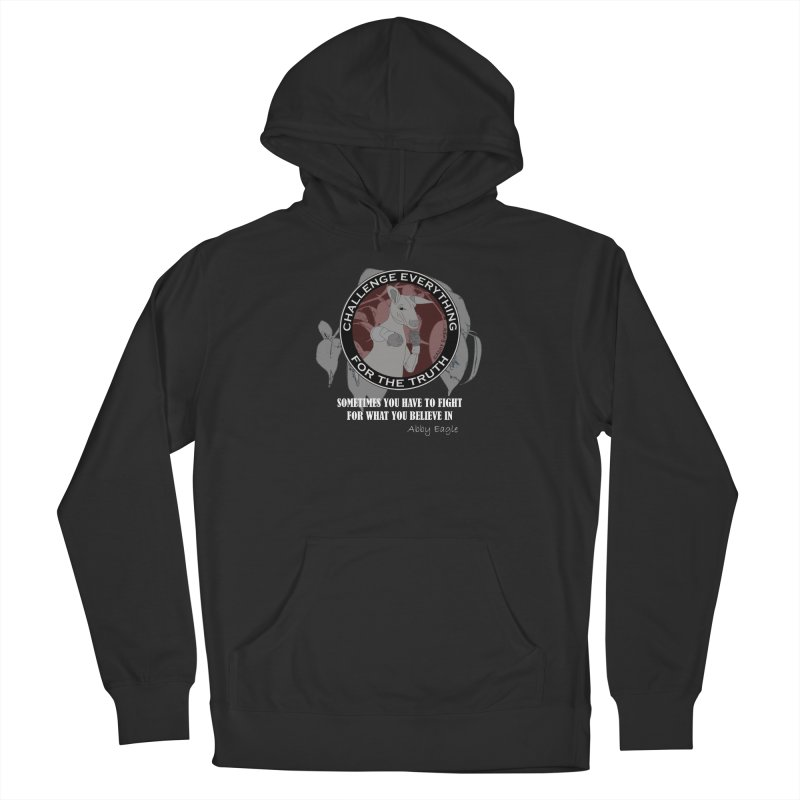 Kangaroo t-shirt - red Men's Pullover Hoody by Abby Eagle