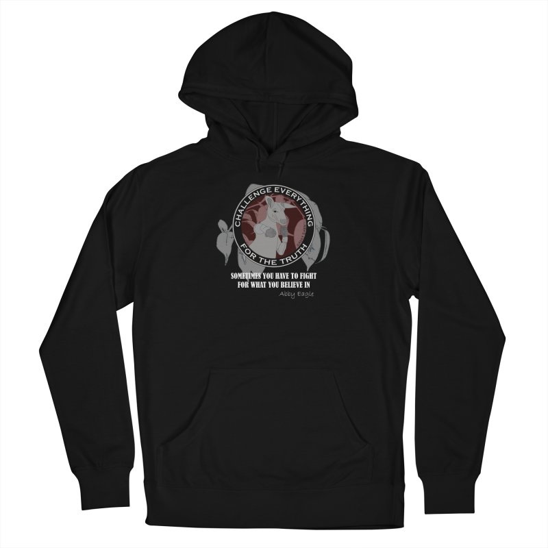 Kangaroo t-shirt - red Women's Pullover Hoody by Abby Eagle
