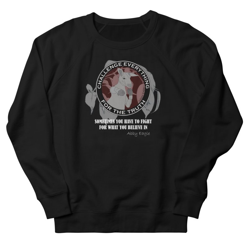 Kangaroo t-shirt - red Women's Sweatshirt by Abby Eagle