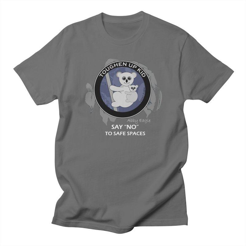 Koala t-shirt - blue Men's T-Shirt by Abby Eagle