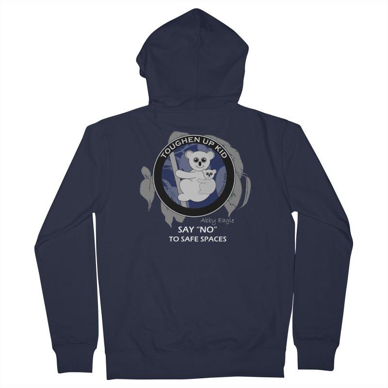 Koala t-shirt - blue Men's Zip-Up Hoody by Abby Eagle