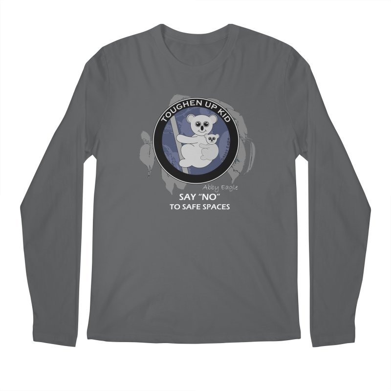 Koala t-shirt - blue Men's Longsleeve T-Shirt by Abby Eagle