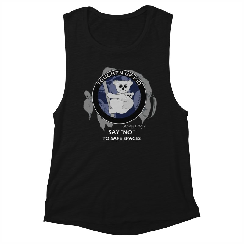 Koala t-shirt - blue Women's Tank by Abby Eagle
