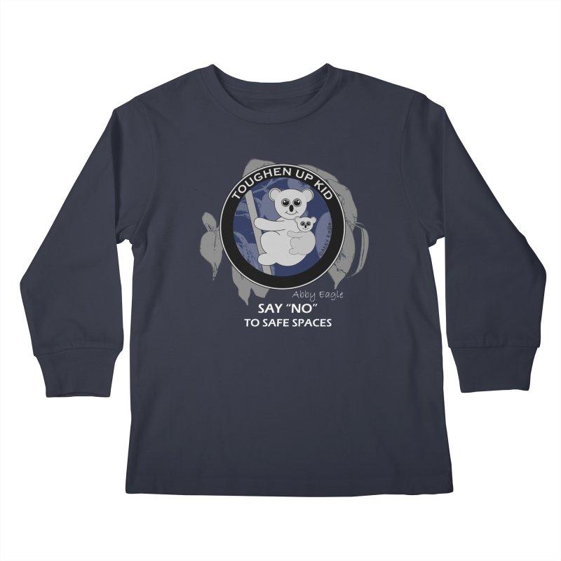 Koala t-shirt - blue Kids Longsleeve T-Shirt by Abby Eagle