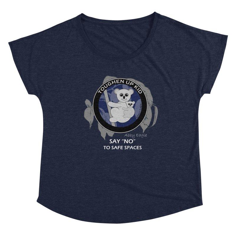 Koala t-shirt - blue Women's Scoop Neck by Abby Eagle