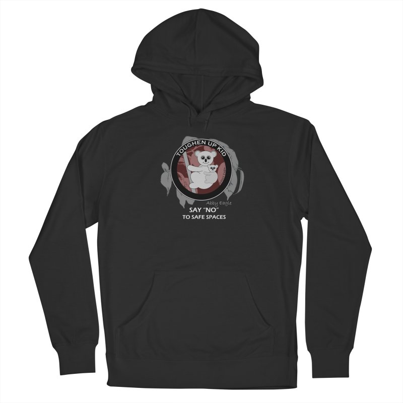 Koala t-shirt - red Men's Pullover Hoody by Abby Eagle