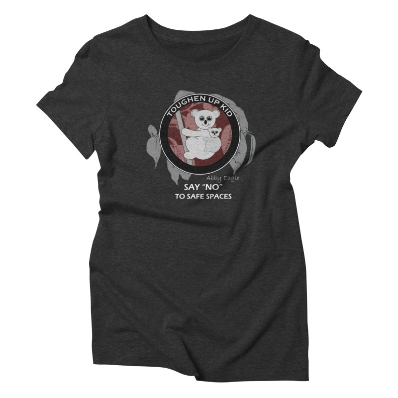 Koala t-shirt - red Women's T-Shirt by Abby Eagle