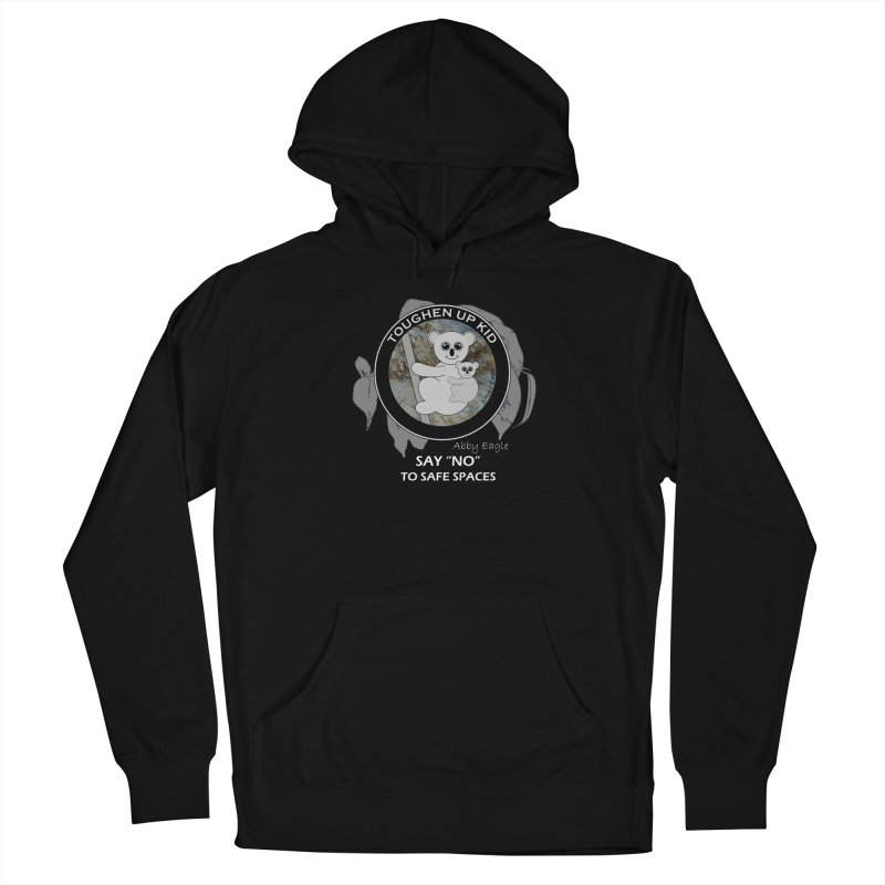 Koala t-shirt - rock face Women's Pullover Hoody by Abby Eagle