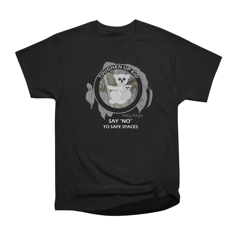 Koala t-shirt - rock face Women's T-Shirt by Abby Eagle
