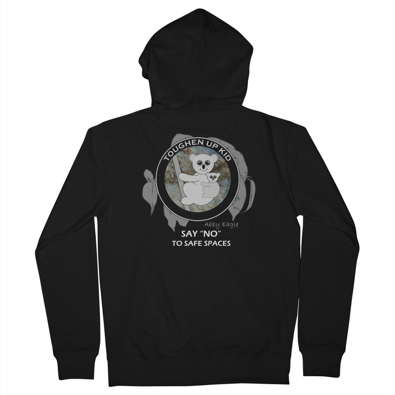 Koala t-shirt - rock face Women's Zip-Up Hoody by Abby Eagle