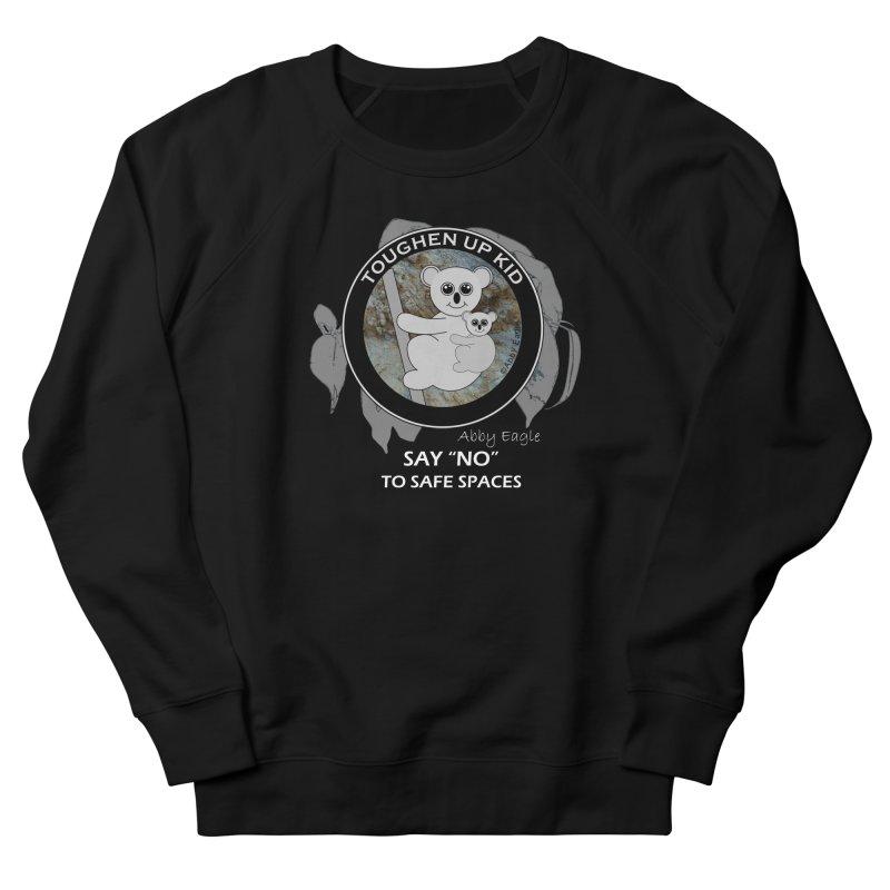 Koala t-shirt - rock face Men's Sweatshirt by Abby Eagle