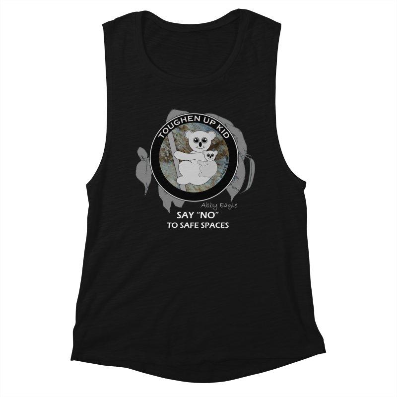 Koala t-shirt - rock face Women's Tank by Abby Eagle