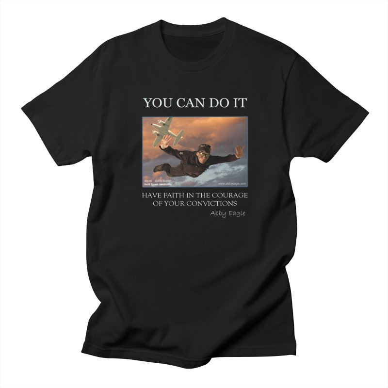 Skydive t-shirt Women's T-Shirt by Abby Eagle