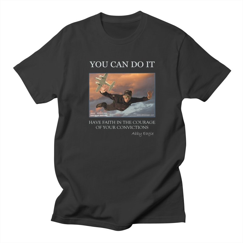 Skydive t-shirt Men's T-Shirt by Abby Eagle