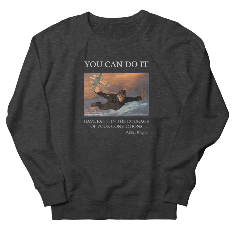 Skydive t-shirt Women's Sweatshirt by Abby Eagle