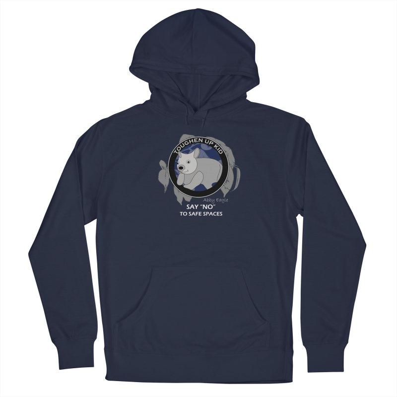 Wombat t-shirt - blue Men's Pullover Hoody by Abby Eagle