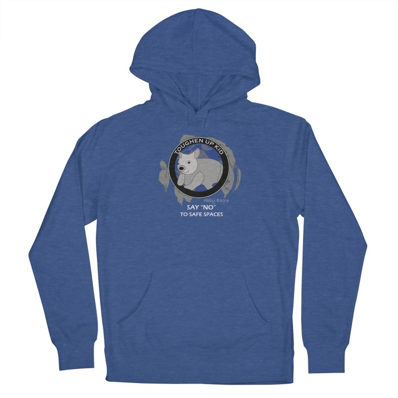 Wombat t-shirt - blue Women's Pullover Hoody by Abby Eagle