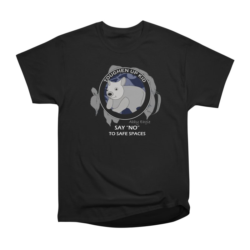 Wombat t-shirt - blue Women's T-Shirt by Abby Eagle