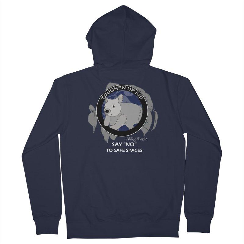 Wombat t-shirt - blue Women's Zip-Up Hoody by Abby Eagle